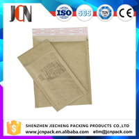 Custom Prienting Brown Paper Bag Plastic Lined Kraft Bubble Mailer