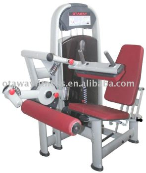 Seated leg curl fitness equipment