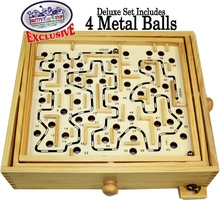 High quality wooden labyrinth maze game
