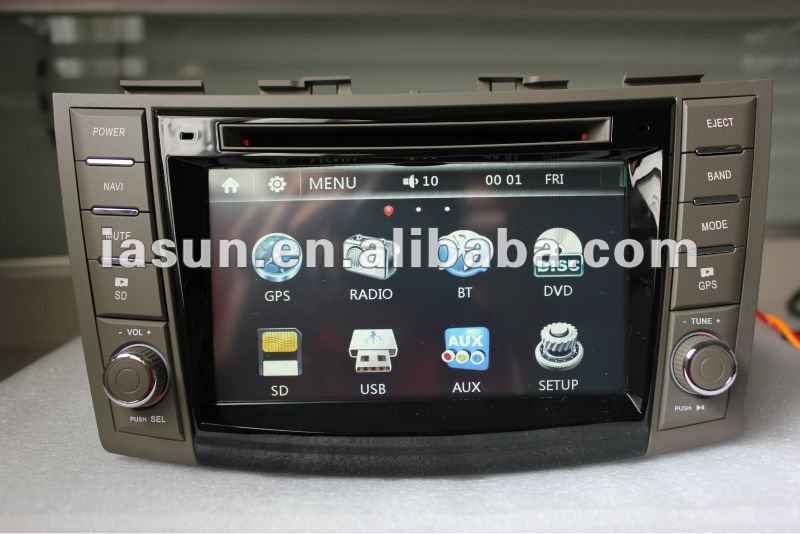 2 DIN Car GPS Navigation System for SUZUKI SWIFT 2012