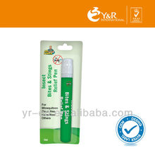 Baby Care Portable Type Insect Mosquito Bites Rescue Ointment Relief Pen 14ml