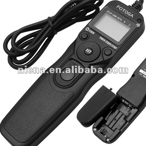 offer OEM Fotga Timer Remote Cord for Nikon D7000 D5000 D90 D3100 D3000 D5300 D600