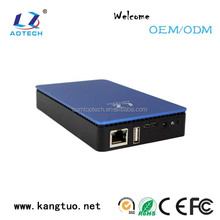 hdd case 2.5 inch ABS plastic+aluminum SATA hdd enclosure external hard disk box,2.5 inch lan nas hdd enclosure