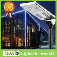 high quality cheap price all in one garden 25w solar panel quality street led lights fittings with sensor