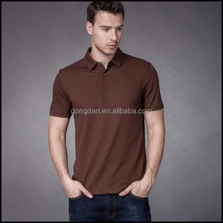 Newest popular short sleeve and dry fit polo shirts wholesale or polo shirt fabric and men polo