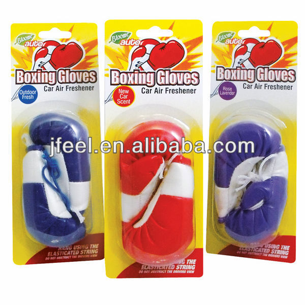Boxing Glove Air Freshener,Hanging Car Deodorizer