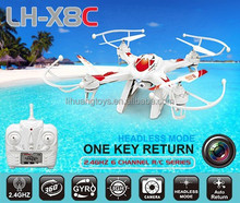 2016 New Toys LH-X8C 2.4G 6-Axis Gyro uav drone RC Quadrocopter with Camera 360 Degree eversion Drone Quadrocopter