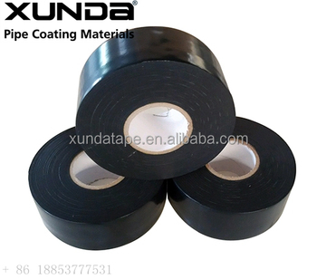 black or white color Pipe wrapping coating material