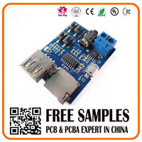 USB and TF card MP3 player PCBA circuit board