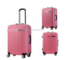 diplomat nylon travel luggage with luggage secret compartment