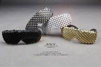 BYTHER studs sunglass in fashion