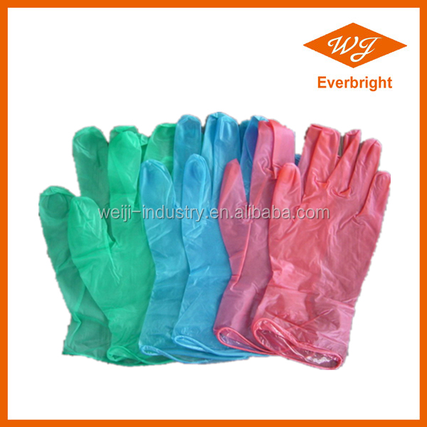 FDA CE ISO approved Disposable Vinyl Glove for food handling