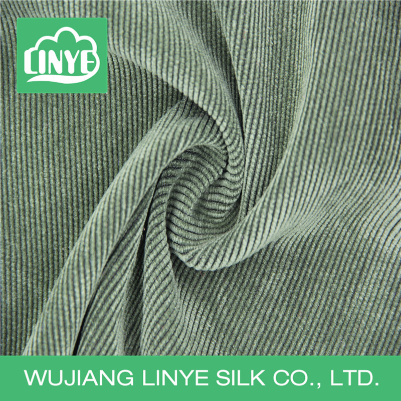 woven fabric corduroy, stripe fabric, dyed yarn fabric for curtain
