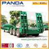 Heavy Machine 3 Axles Low Flatbed