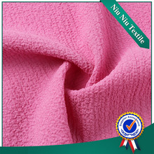 High quality Wholesale dyed spandex polyester chiffon bubble fabric
