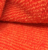 100% polyester knitted sherpa fleece long pile plush fabric