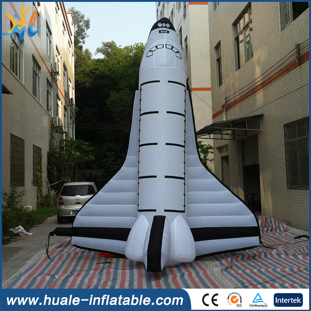 Hot sale giant inflatable rocket for advertising