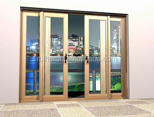 Customized simply design metal sliding door for main gate designs