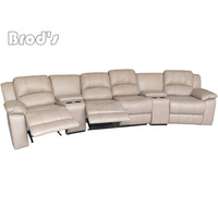 hot sale Unique simple design best price living room motion sofa, fabric sectional motion sofa set for living room furniture
