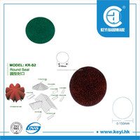 Round seal flat S2 stone coated metal roof tile