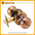2016 High quality ball style of Entrane,Privacy,Passage tubular door lock