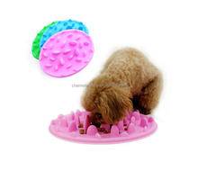 Silicone Interactive Slow Pet Feeder Bloat Stop Bowl for Small & Large Dog