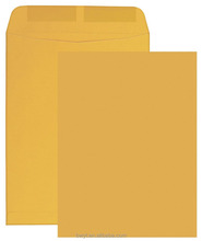 Catalog Envelope, Plain, 28 lbs., 6 x 9 Inches, 500 per Box, Brown Kraft, Gummed Seal