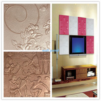 Green building material gypsum 3D wall decorative