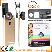 IBOOLO superior vision mobile phone camera 18mm 10 degree HD 4K full screen wide angle lens for smartphone