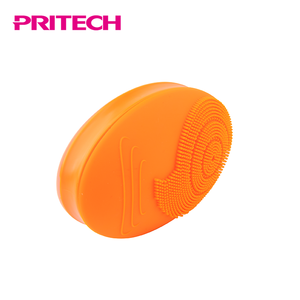 PRITECH High Quality Silicone Head Electric Sonic Facial Brush Clean Pores