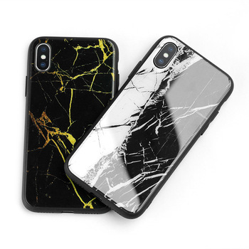 9H safe Tempered Glass cell phone case for iphone X 7 6 Plus customizable covers
