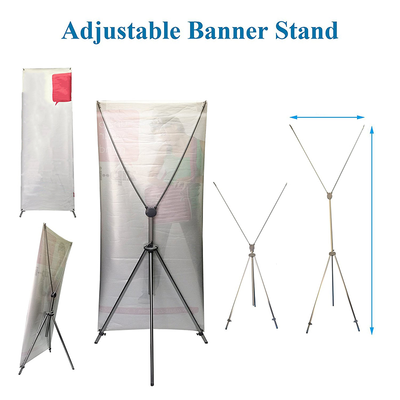 Customized Stable And Portable Vertical X Stand Frame