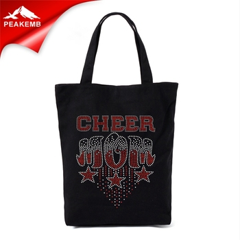 new arrival cheer mom  rhinestone transfer hotfix iron on T-shirt