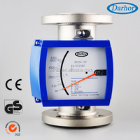 DH250 series metal tube high sensitive water flow meter sensor