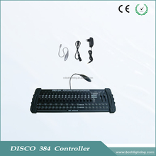 Hot selling usb DMX 512 disco 384 light sound controller