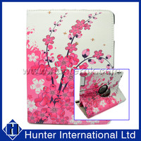 Girlie Printed Pink Blossom Tablet Case For iPad 2