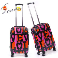 Lovely Printing Hardshell Abs/PC Luggage Set with Personalized Design