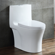 R383 Professional Bathroom Sanitary Ware tornado double siphonic flush One piece Toilet