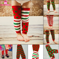 Xmas Baby Leg Warmers Infant Toddler Kids Christmas Gift Unisex Baby Cotton Leg Warmers Wholesale