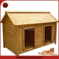 Cheap Double Door Wooden Dog House