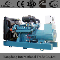 China Assembled Doosan Daewoo 450kW Mobile Type Diesel Generator Set