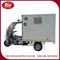 Made in China Tricycle 150cc/200cc three wheel motorcycle hospital ambulance