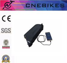 for e-bike li-ion 48V 10Ah dolphin battery pack with USB