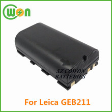 7.4V 2600mAh battery for Leica Battery GEB211, Lithium ion battery for Piper 100, 200