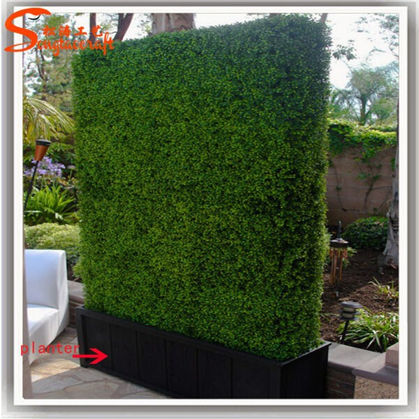 customized size plastic hedge artificial boxwood hedge artificial green hedge artificial boxwood hedge artificial fence