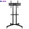 TV Cart TV Trolley Swivel TV Stand 360 For Lcd Led Oled Plasma Flat Panel Screens