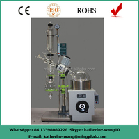 Hot sale 20l milk vacuum evaporator with high quality