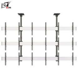 Heavy Duty Capacity Ceiling 3X3 Wall Mount For 50 Inch TV With Integrated Cable Management