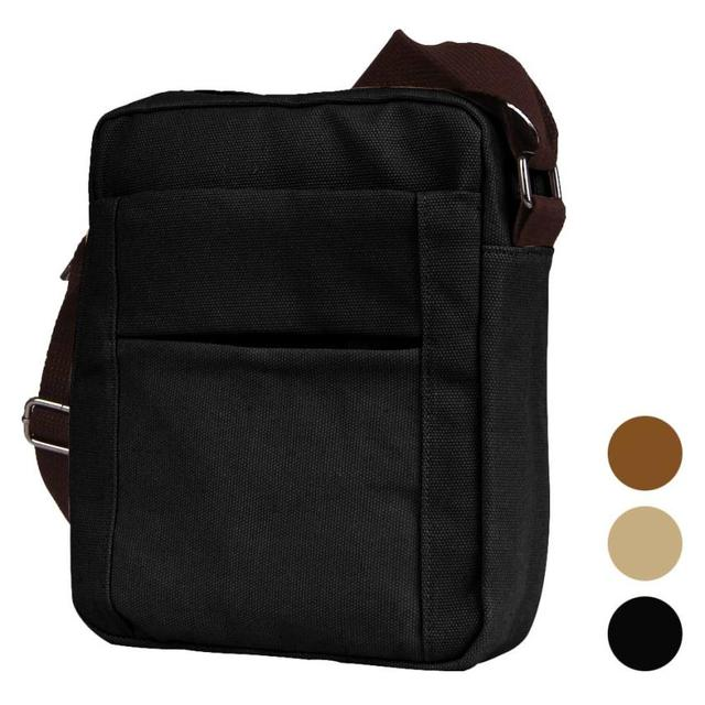 Autumn Fashion Men Shoulder Bag Messenger Bags Top Quality Flap Front Multiple Pockets Casual Crossbody Bag