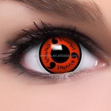 144 Models High Quality Yearly Halloween Crazy Contact Lenses Red Sharingan Contact Lens